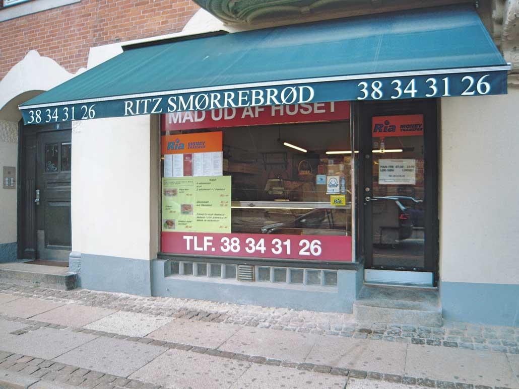 smørrebrødsforretning til salg